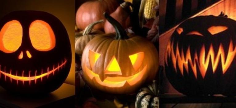 Decorar carbasses per Halloween
