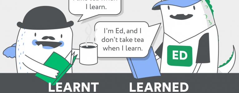Learnt or Learned? Verb i adjectiu?